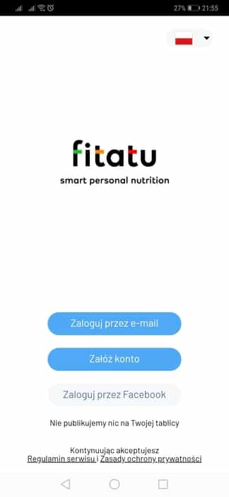 Aplikacja Fitatu