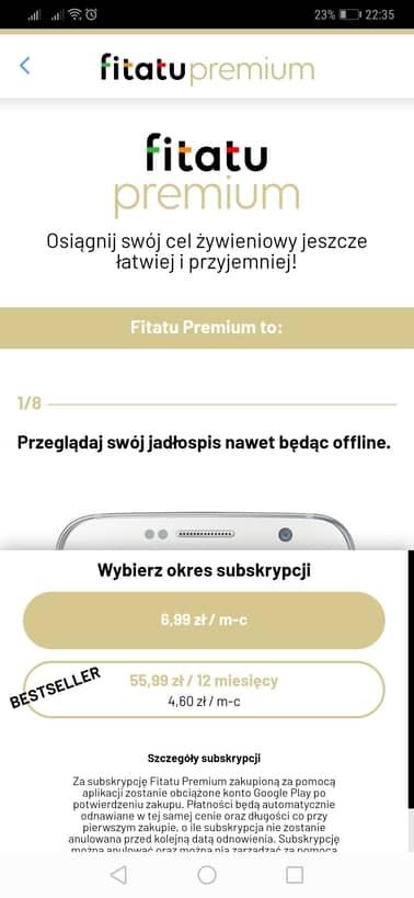 Konto premium