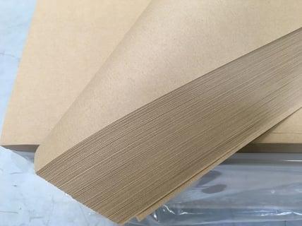 Papier pakowy kraft 80g szary arkusz