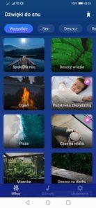 Aplikacja Relax and Sleep